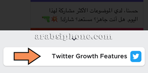 اختر Twitter Growth Features